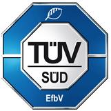 Logo TÜV Zertifizierung